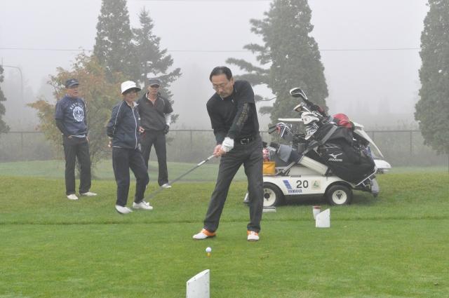 100周年記念事業チャリティーゴルフ大会